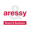 "Logo Aressy - agence de communication "" Brand to business"""