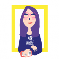 Logo Ask Mona