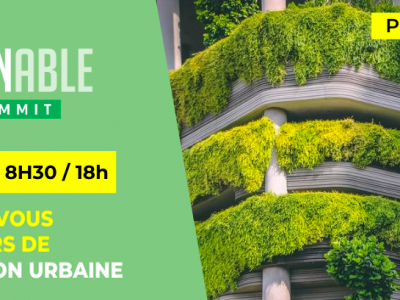 Sustainable Cities Summit, event organisé par Hub Institute le 15 septembre 2020