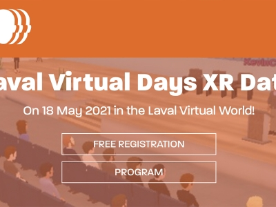 Laval Virtual Days XR Data, organisé par Laval Virtual le 18 mai