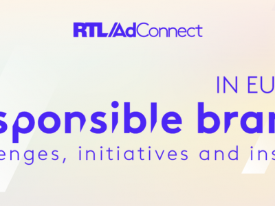 Responsible Brands in Europe, organisé par RTL AdConnect le 6 mai 2021