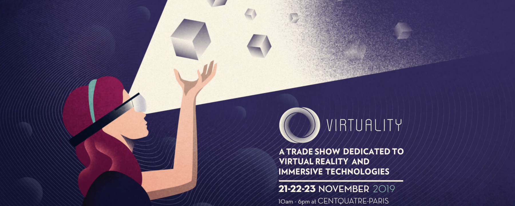 Visuel Virtuality Paris