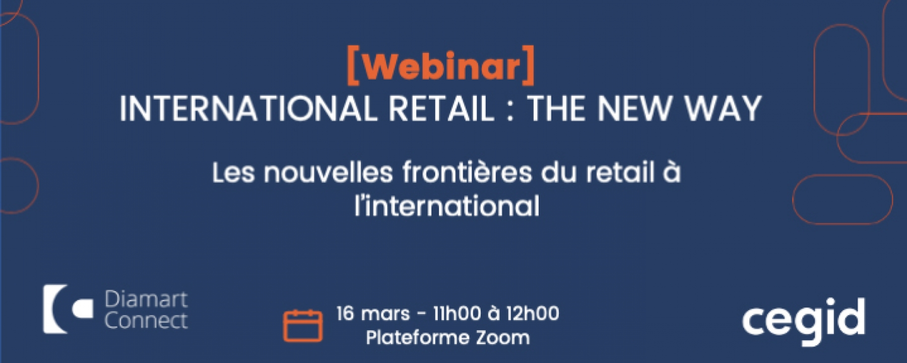 International retail : The new way, un webinar organisé le 16 mars 2021 par Diamart Group